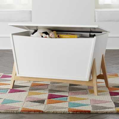 Parkside Modern Toy Box - Crate and Barrel
