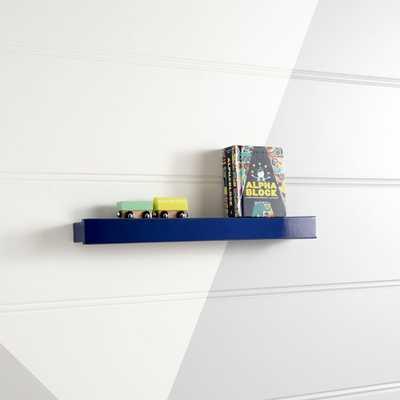 Dark Blue Display Ledge - Crate and Barrel