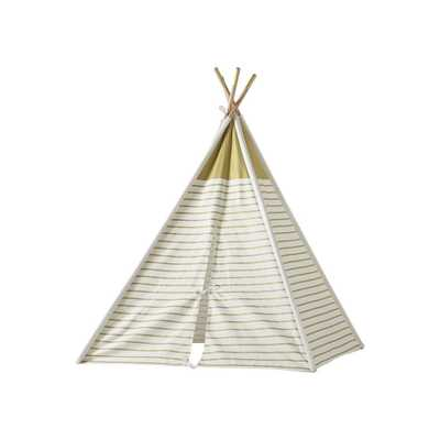 A Teepee to Call Your Own (Gold Metallic) - Crate and Barrel