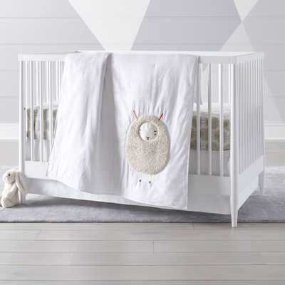 Sheep Crib Bedding, 3-Piece Set - Crate and Barrel