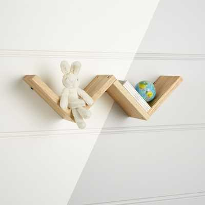 Origami Natural Wall Shelf - Crate and Barrel
