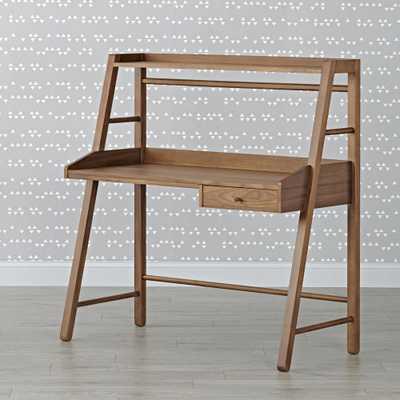 Kids Taylor Walnut Desk - Crate and Barrel