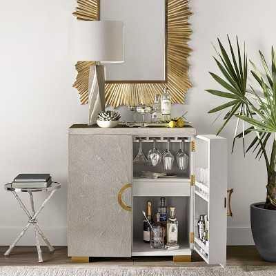 Vienna Bar Cabinet Poplar - Williams Sonoma