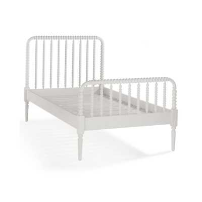 Jenny Lind White Twin Bed - Crate and Barrel