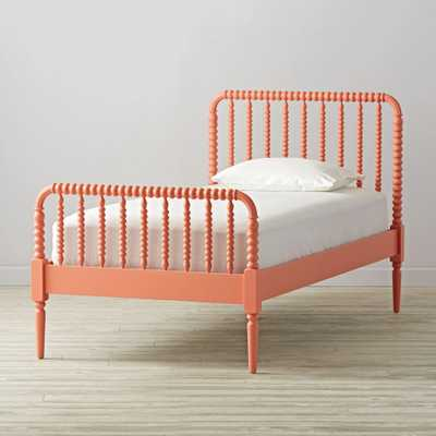 Jenny Lind Coral Twin Bed - Crate and Barrel