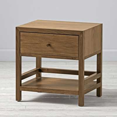 Kids Taylor Walnut Nightstand - Crate and Barrel