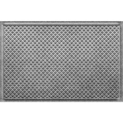 Gems Medium Gray 24 in x 36 in Polypropylene Door Mat - Home Depot