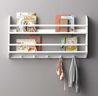 WOOD BOOK DISPLAY SHELVES - SMALL - RH Baby & Child