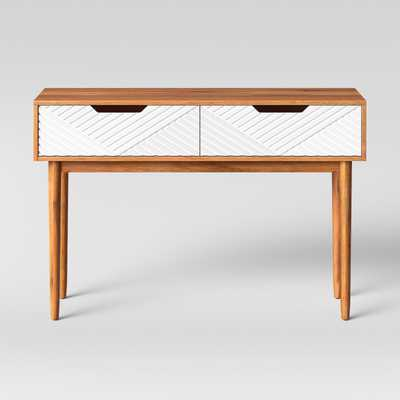 Touraco Console Table Brown/White - Opalhouse - Target