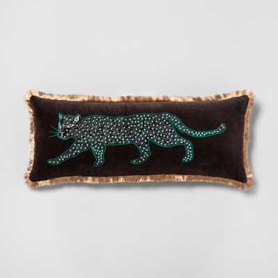 Panther Oversize Lumbar Throw Pillow - Opalhouse™ - Target