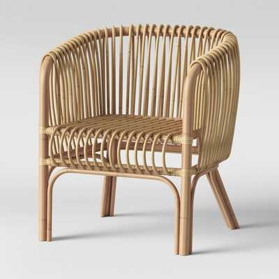 Isabella Rattan Barrel Arm Chair - Target