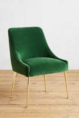 Velvet Elowen Chair - Anthropologie