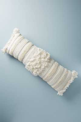 Textured Indira Pillow. 40 x 14 - Anthropologie