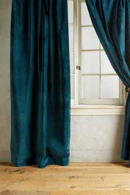 Matte Velvet Curtain - Anthropologie