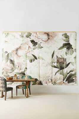 Blush Bouquet Mural - Anthropologie