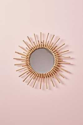 Magical Thinking Woven Wall Mirror- circle - Urban Outfitters