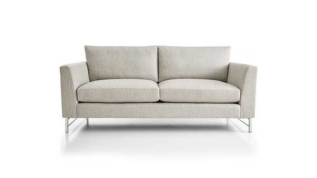 Tyson Apartment Sofa with Stainless Steel Base - Crate and Barrel