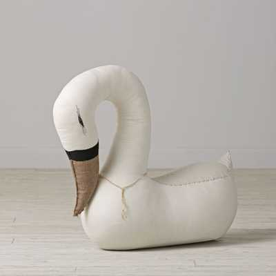 Swan Stuffed Animal - Crate and Barrel