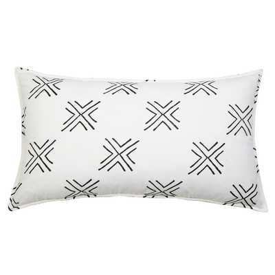 "ARROW PILLOW 20"" X 36"" WITH INSERT - Pom Pom at Home"