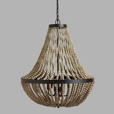 Large Wood Bead Chandelier by World Market - World Market/Cost Plus