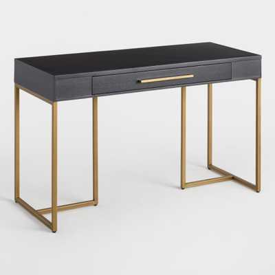 Herringbone Wood Wayde Desk by World Market - World Market/Cost Plus