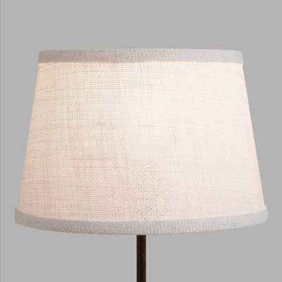Marshmallow White Burlap Accent Lamp Shade by World Market - World Market/Cost Plus