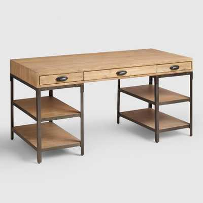 Wood and Metal Teagan Desk by World Market - World Market/Cost Plus