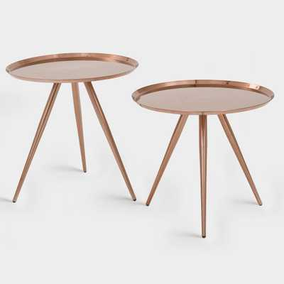 Copper Nesting Tables Set of 2: Metallic by World Market - World Market/Cost Plus