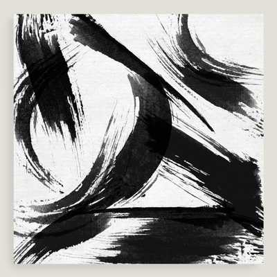 Black and White Abstract Canvas Wall Art by World Market - World Market/Cost Plus