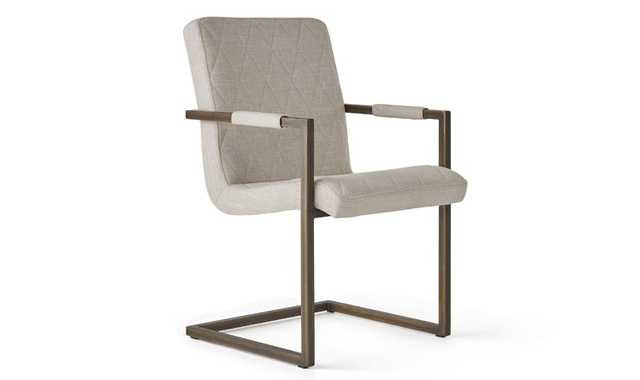 Crossroad Mid Century Modern Chair (Set of 2) - Charcoal - Joybird