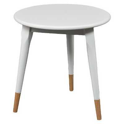 Alden Round Side Table Glossy - White - Aiden Lane - Target