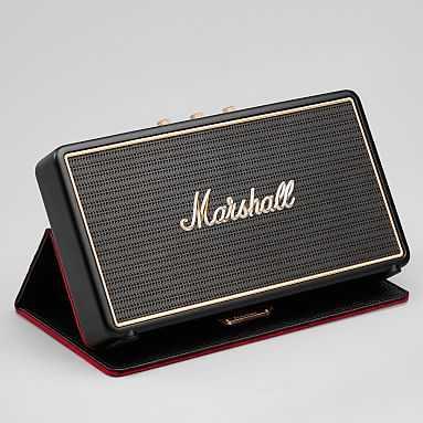 Marshall Stockwell Bluetooth(R) Speaker, Black - Pottery Barn Teen