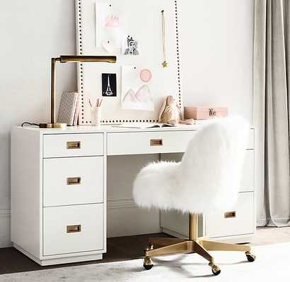AVALON STORAGE DESK - RH Baby & Child