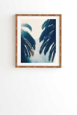 California Blue Framed Wall Art - Wander Print Co.