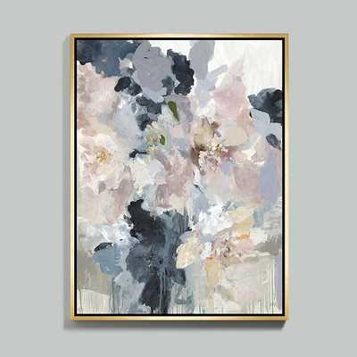 """Garden Gate Framed Canvas - 40"""" x 30"""" - framed - Ballard Designs"""
