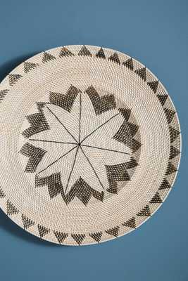 Antigua Hanging Basket Black Motif - Anthropologie