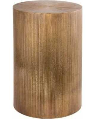 GOLD BAR ACCENT TABLE - Rosen Studio