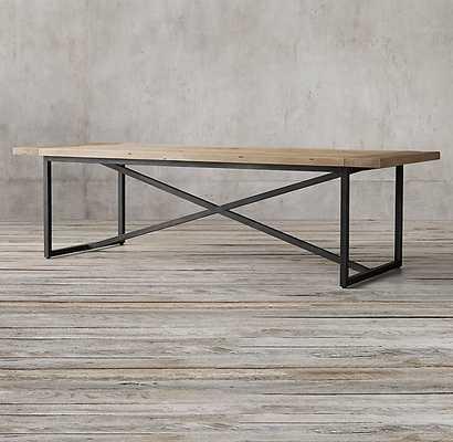 Torano Salvaged Rectangular Dining Table - RH