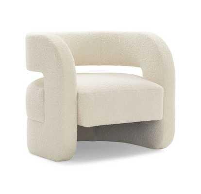 Kirby Chair - Sherpa Natural - Mitchell Gold + Bob Williams