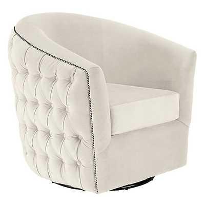 Winslow Swivel Chair - Z Gallerie