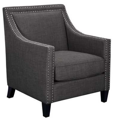 Elsinore Accent Chair CHOICE OF COLORS - Elsinore Charcoal - Apt2B