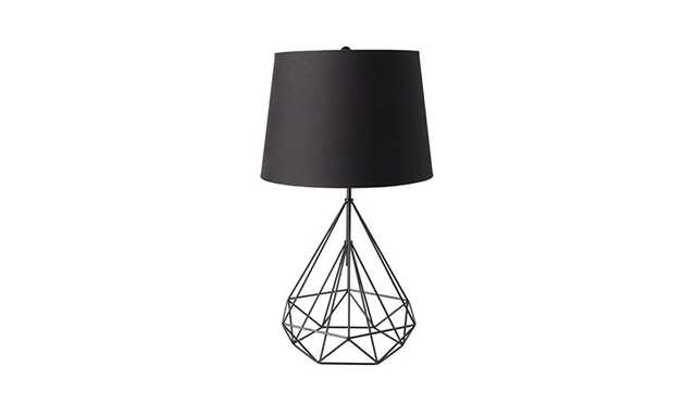 Rae (Black) Table Lamp - Joybird