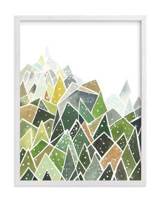 Landscape of Triangles and Dots - Minted