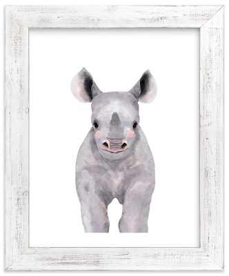 Baby Animal Rhinoceros - Minted