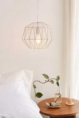Mindy Caged Diamond Pendant Light - Urban Outfitters