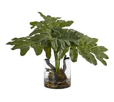 Faux Potted Philodendron Arrangement - Pottery Barn