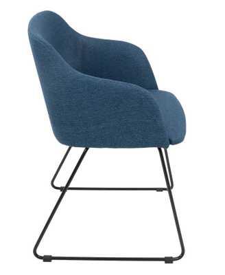 Daneilla Dining Chair - Blue (Set of 2) - Hollis Modern