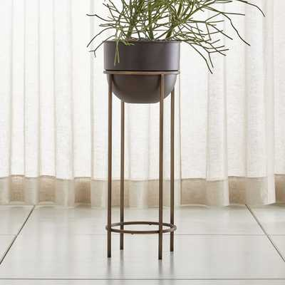 Wesley Large Metal Plant Stand - Crate and Barrel