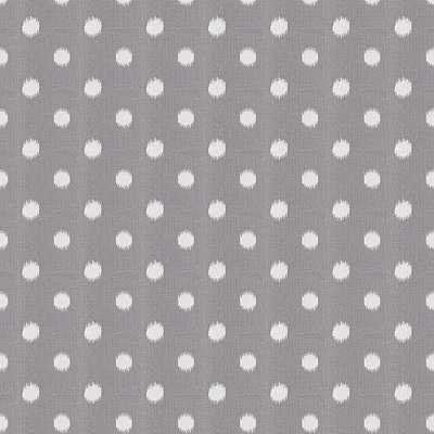Polka Face - Pewter Fabric - Loom Decor