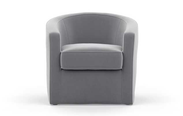 Alice by Alison Victoria Chairs in Elephant Fabric - Interior Define